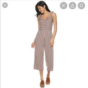 Juniors Rewind knit jumpsuit